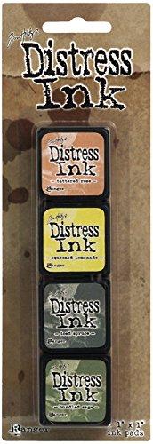 Ranger Distress Mini Ink Kit, 10
