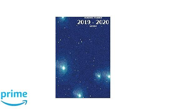 Yale Academic Calendar 2020 18.Academic Planner 2019 2020 Weekly July 1 2019 December 31