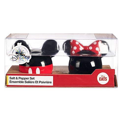(Disney Mickey and Minnie Mouse Icon Salt & Pepper Set - Disney Eats)
