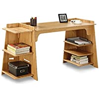 Legare Configurable Craft Desk, 70-Inch, Amber Bamboo