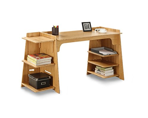 Legare Configurable Craft Desk, 70-Inch, Amber Bamboo For Sale