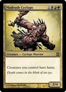 Magic: the Gathering - Madrush Cyclops - Alara - Alara Mint