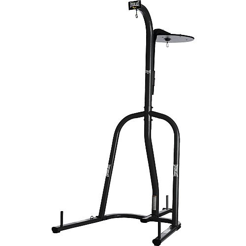 Everlast - 2 Station Heavy Bag Stand (Heavy Bag And Speed Bag Stand)