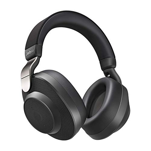 Jabra Elite 85h Over-Ear Headphones – Active Noise Cancelling Wireless Earphones with Long Battery Life for Calls and Music – Titanium Black