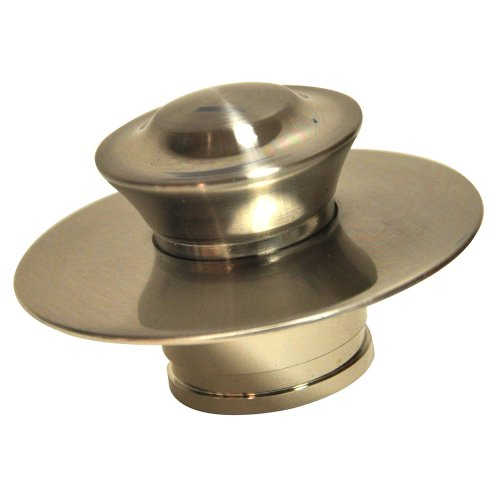 Danco EZ Drain Cover for Bathtub, Brushed Nickel, 10534 - Brushed Nickel Finish Plug