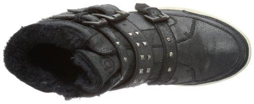 Bugatti J10543 - Altas de cuero mujer negro - Schwarz (schwarz 100)