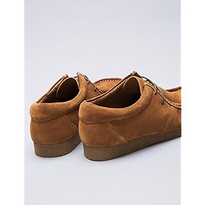 Brand - find. Men's Moccasin Beige (Tan) US 8: Shoes