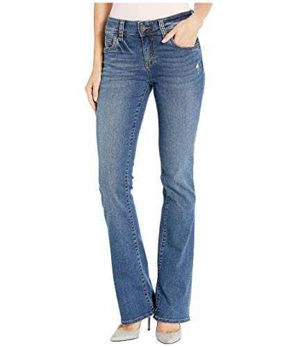 KUT from the Kloth Natalie High-Rise Bootcut Scrumptious Wash 12