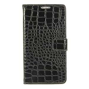 HC- Cocodrilo modelo de la impresión de la PU bolsas de cuero con hebilla para Samsung Galaxy Nota 3 N9006