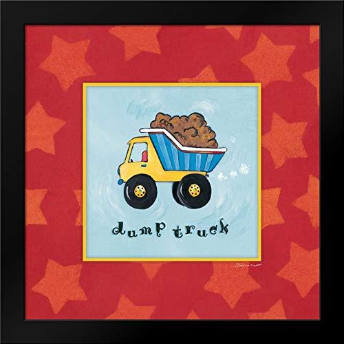 Dump Truck Framed Art Print by Marrott, Stephanie