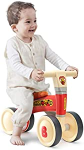 Robud Baby Balance Bike Bicycle, Baby Walker Riding Toy Gift for Toddlers Boys & Girls, Aged 10-36 Month, 1 2 3 Years Old