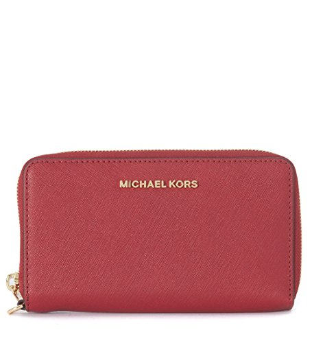 MICHAEL Michael Kors Jet Set Travel Large Saffiano Leather Phone Wristlet by MICHAEL Michael Kors