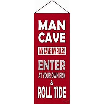 One Size Team Color FOCO NCAA Florida State Seminoles Mancave Sign