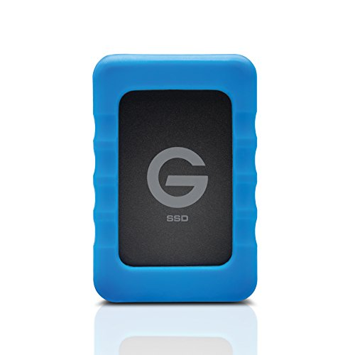 G-Technology 0G04755 500 GB G-DRIVE ev RaW Solid-State Drive, USB 3.0