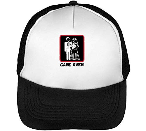 Snapback Hombre Game Gorras Negro Beisbol Blanco Over qfEqgx8wt