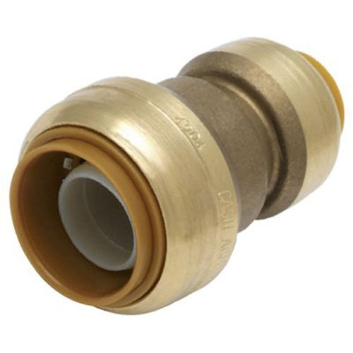 SharkBite Reducing Coupling, 1 Inch by 3/4 Inch, Push-to-Connect, PEX, Copper, CPVC, PE-RT, HDPE (Pex 3 4 To 1 2 Tee)