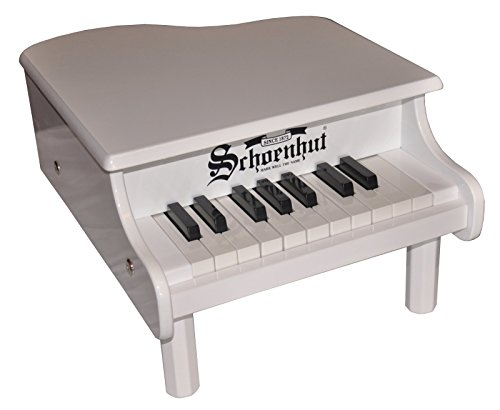 Schoenhut 18-Key Mini Baby Grand - White