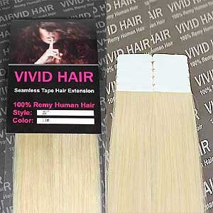 10 pcs x 18 inches remy seamless tape skin weft human hair 10 pmusecretfo Choice Image