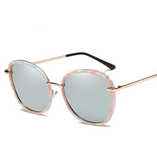 Clásicas Sol Gafas Mujer400 Solgafas Mujer De 3 4 De Sol UV Gafas Redondos Dulces Gafas Limotai De z7xwf8qO