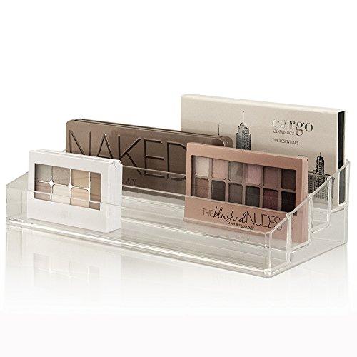 Clear Multi-Level Makeup Palette Organizer