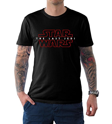 The Last Jedi Star Wars Shirt Red Border Costume T shirt L