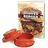 Stuffed Burger Recipe Book & Burger Press
