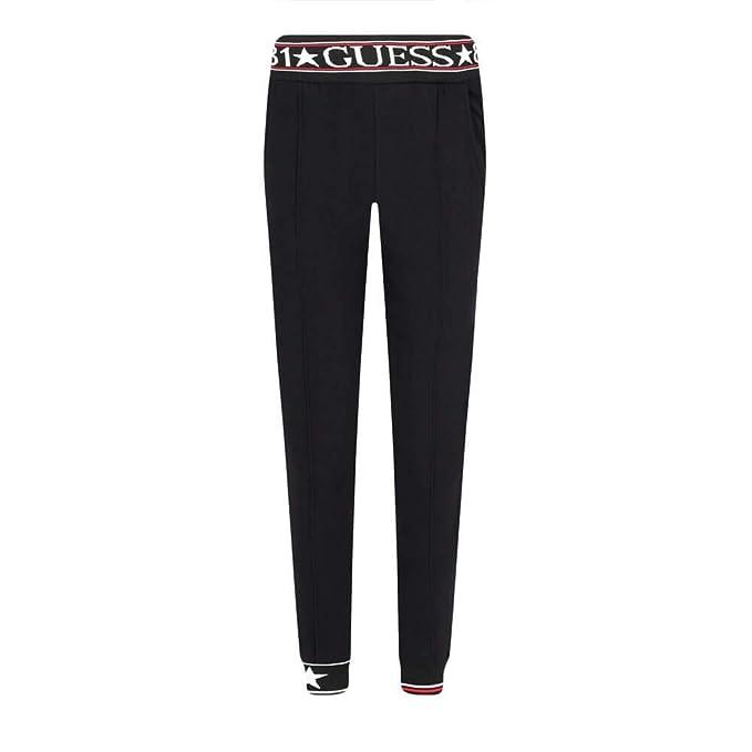 Guess O94A49 FL01I A996 - Pantalón de chándal para Mujer, Color ...