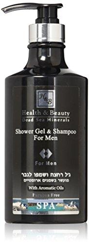 H&B Dead Sea Shower Gel & Shampoo for Men from Health & Beauty Dead Sea Minerals