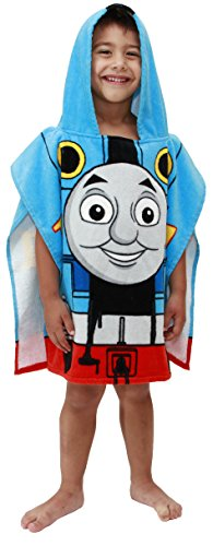 - Mattel Thomas The Tank Engine Cotton Hooded Poncho Bath/Pool/Beach Towel