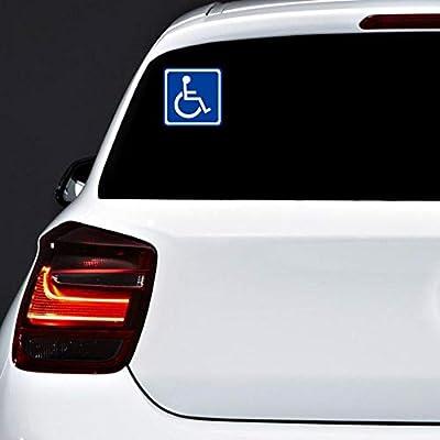 Autodomy Pegatinas Discapacitado Minusválido Pack 2 Unidades para ...