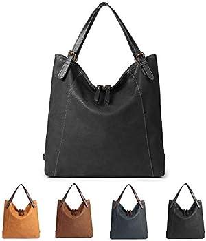 Brenice PU Leather Multifunction Women Shoulder Backpack Bag