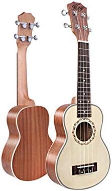 ウクレレ、ウクレレ、21インチ、23インチ、26インチウクレレギター、スモールギターウクレレ、初心者Ukulele1スプルース (Size : 21 inches)