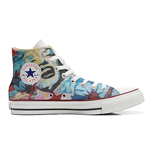 City Artisanal mys Adulte Converse Customized York Coutume Chaussures Produit New q7AHf