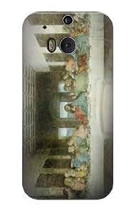 S0173 Leonardo Da Vinci The Last Supper Case Cover for HTC ONE M8