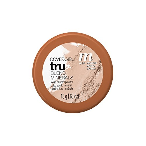 COVERGIRL TRUblend Mineral Loose Powder Translucent Light .63 oz (Packaging may vary) (Mineral Face Powder)