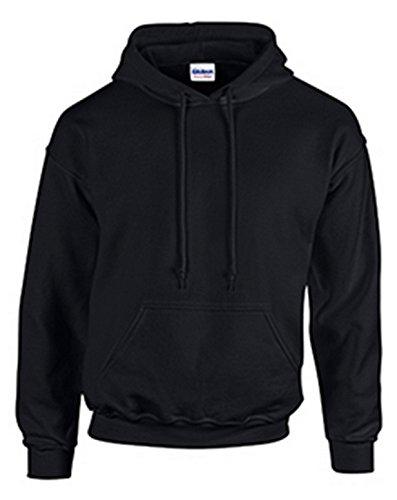 Gildan Hoods 18500 (Medium, Black) from Gildan