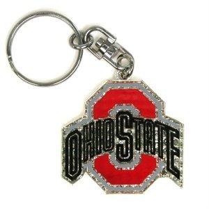 NCAA Ohio State Buckeyes Shanghi Diamond Keychain