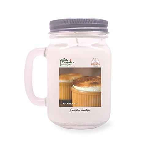 Pumpkin Souffle - Country Jar Pumpkin Souffle Soy Candle (14.5 oz. Mason Jar) Spring Pick-3 Sale! See Details.
