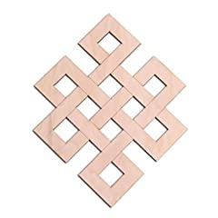 MEANINGS: The Eternity Knot, also known as the Endless Knot, is one of the Eight Auspicious Symbols of Tibet. Frequently seen alone, it may be considered the most important of the eight symbols.  It is a symbol of Samsara, and both the interw...