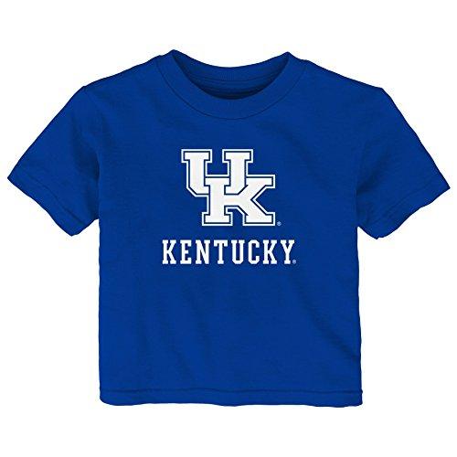 - Gen 2 NCAA Kentucky Wildcats Infant Primary Logo Short Sleeve Tee, 12 Months, Royal