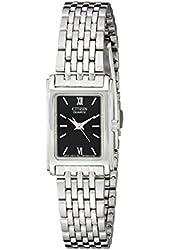 Citizen Women's EJ5850-57E Analog Display Japanese Quartz Silver Watch