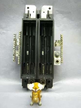 vintage amp fuse box square d 0 224780    vintage       fuse    block 200    amp    amazon com  square d 0 224780    vintage       fuse    block 200    amp    amazon com