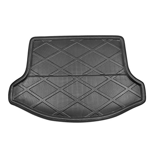 X AUTOHAUX Black Rear Trunk Boot Liner Cargo Mat Floor Tray for 11-17 Kia Sportage R