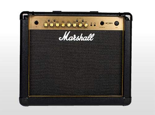 1. Marshall Amplifiers Guitar Combo Amplifier (M-MG30GFX-U)