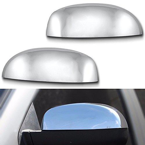 EZ Motoring TOP Chrome Mirror Cover (Replacement Mirror CAPS) for 2007-2013 Chevy Chevrolet Avalanche/Silverado/Tahoe/Suburban GMC Yukon/Yukon XL