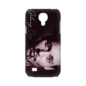 CTSLR Johnny Depp Protective 3D Hard Case Cover Skin for Samsung Galaxy S4 Mini-1 Pack- 5