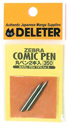 Zebra Managa Pen Nib Maru - 2pc