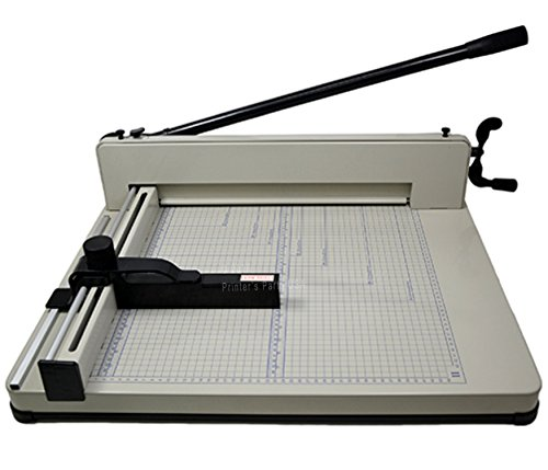 MANUAL PAPER CUTTER 17″ MODEL 858-A3 Guillotine Paper Cutter