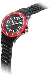 40Nine Unisex 40NINE03/BLACK/RED Medium 40mm Plastic Watch