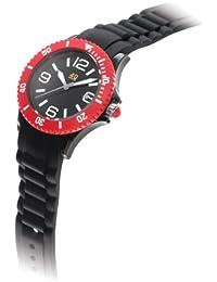 Unisex 40NINE03/BLACK/RED Medium 40mm Plastic Watch